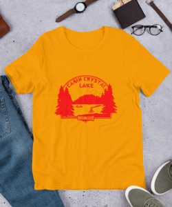 Vintage Camp Crystal Lake Unisex T Shirt