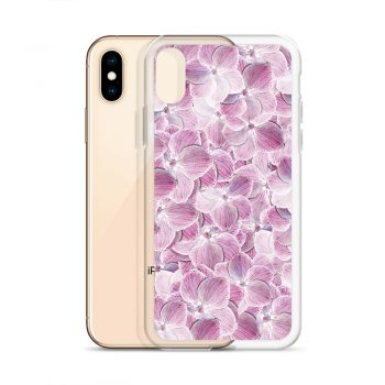 Cool Floral Purple Custom iPhone X Case