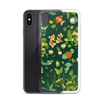 Cute Whirlpool Pattern Custom iPhone X Case