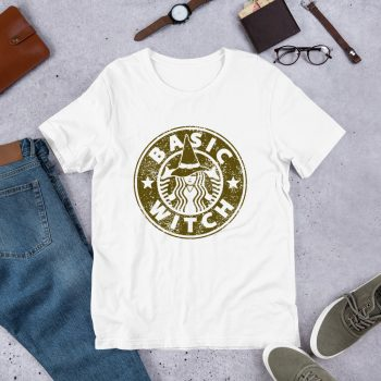 Basic Witch Starbucks Inspired Unisex T Shirt