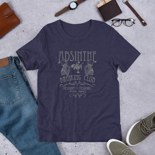 Absinthe Paris Drinking Club Unisex T Shirt