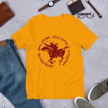 Crazy Horse Ragged Glory Tour Unisex T Shirt