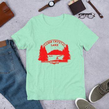 Vintage Camp Crystal Lake Unisex T Shirt