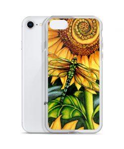 Beautiful Sun Flower Watercolor Custom iPhone X Case