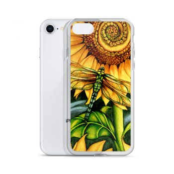 Beautiful Sun Flower Watercolor Custom iPhone X Case
