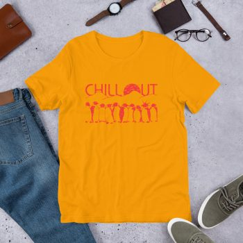 Chillout Penguins Unisex T Shirt