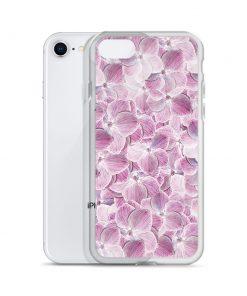 Cool Floral Purple Custom iPhone X Case