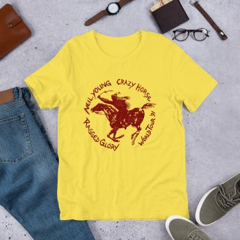 Crazy Horse Ragged Glory Tour Unisex T Shirt