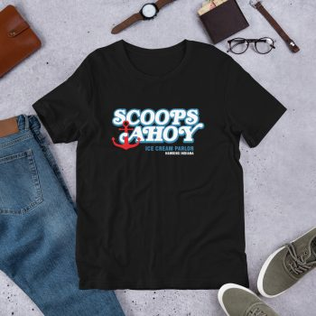 Stranger Things Scoops Ahoy Ice Cream Parlor T Shirt