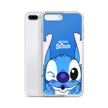 We Love Lilo Stitch Custom iPhone X Case