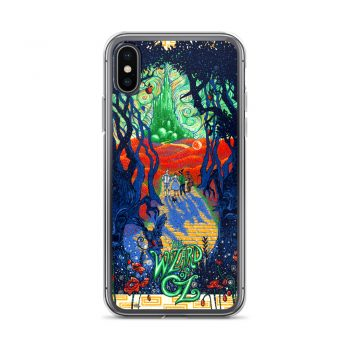 Trippy Wizard Of Oz Custom iPhone X Case