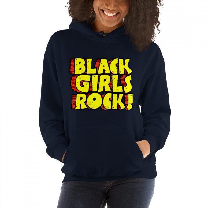 Black Girls Rocks Feminist Unisex Hoodie