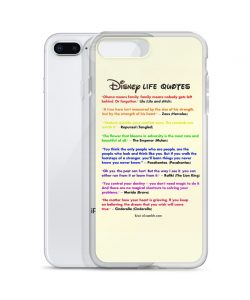 Disney Life Quote Custom iPhone X Case