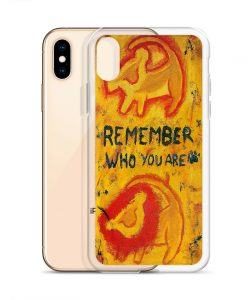 Lion King Remember Who You Are Custom iPhone X Case