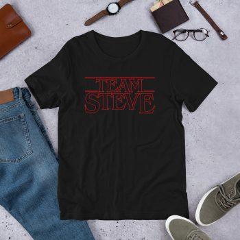 Stranger Things Team Steve Unisex T Shirt
