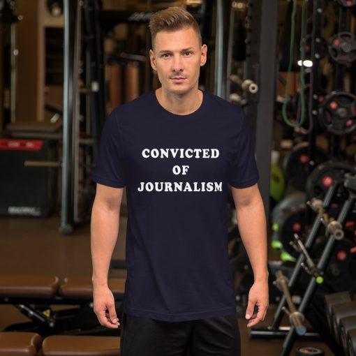 Convicted Of Journalism London Vs South Korea Unisex T-Shirt