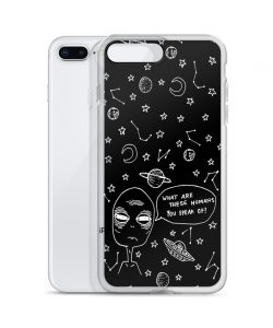 Alien What Are These Humans Custom iPhone X Case