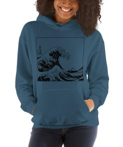 Aesthetic Great Wave Off Kanagawa Hoodie
