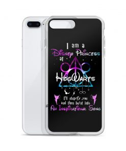 I'm A Disney Princess At Hogwarts Custom iPhone X Case