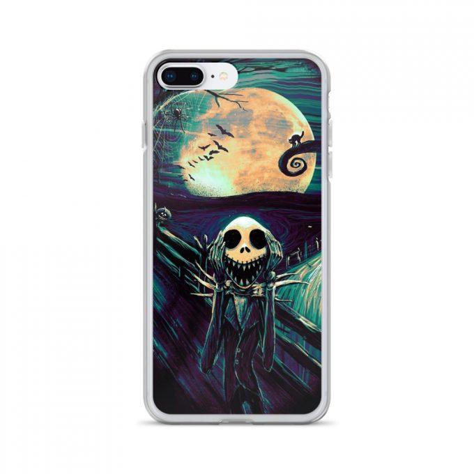 Nightmare Before Christmas Scream Custom iPhone X Case