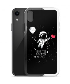 I Love You To The Moon And Back Custom iPhone X Case