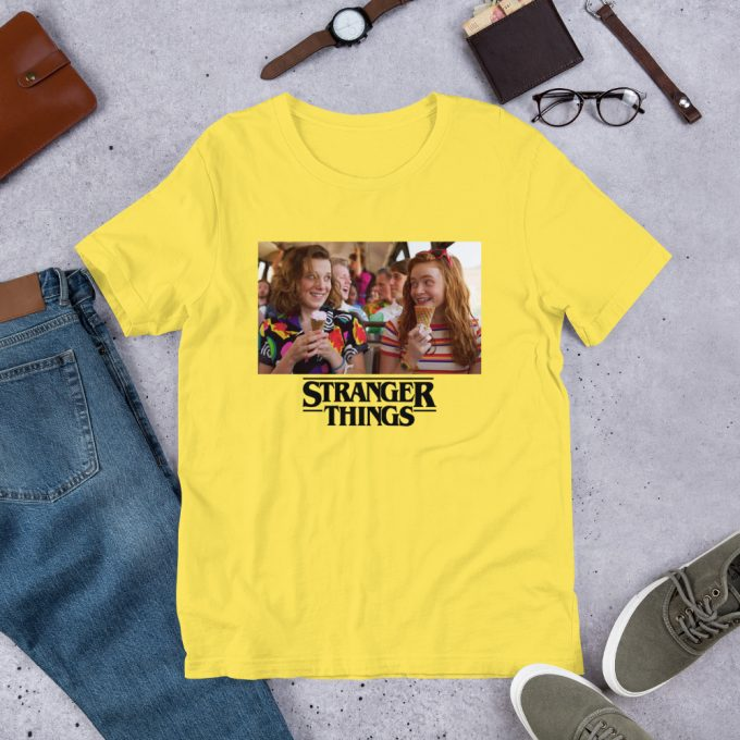 Eleven and Max Stranger Things Unisex T Shirt