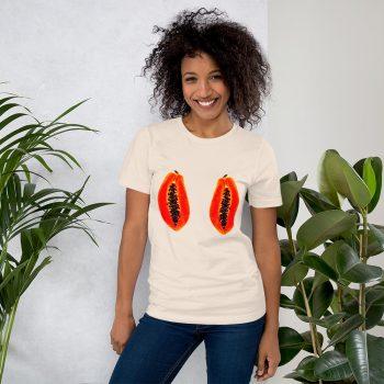 Papaya Boobs Tits T Shirt