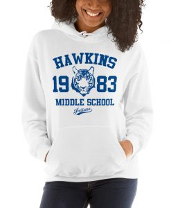 Hawkins Indiana Middle School Stranger Things Hoodie
