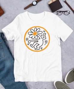Sunflower Button American Pop Art Unisex T Shirt