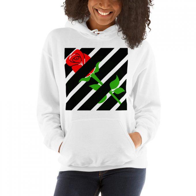 Rose Hypebeast Hoodie Streetwear Style