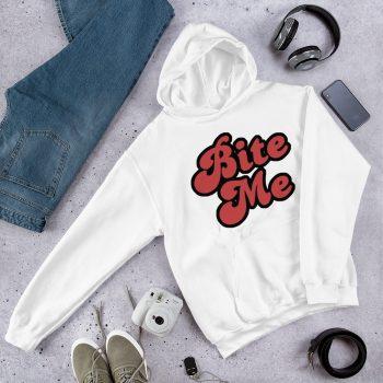 Cute Bite Me Hoodie Sweatshirt