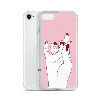 Girly Smoke Weed Custom iPhone X Case