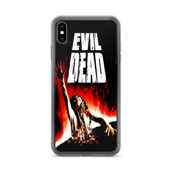 Evil Dead Vintage Horror Movie Custom iPhone X Case
