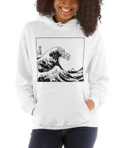Aesthetic Great Wave Off Kanagawa Hoodie