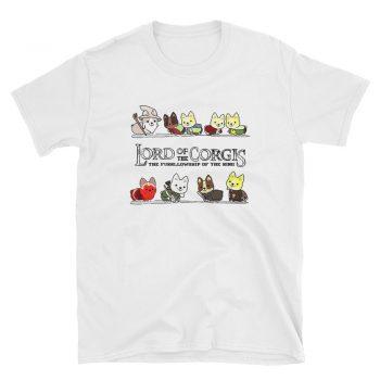Kitten Meow Lord Of The Corgis Unisex T Shirt