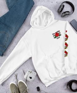 No More You Rose Hoodie Aesthetic Clothing