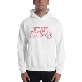 Team Steve Avengers Things Hoodie