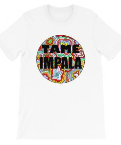 Tame Impala Psychedelic T Shirt Design