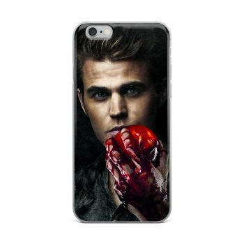 Stefan Salvatore Vampire Diaries Custom iPhone X Case
