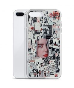 Billie Eilish Bad Girl Collage Custom iPhone X Case