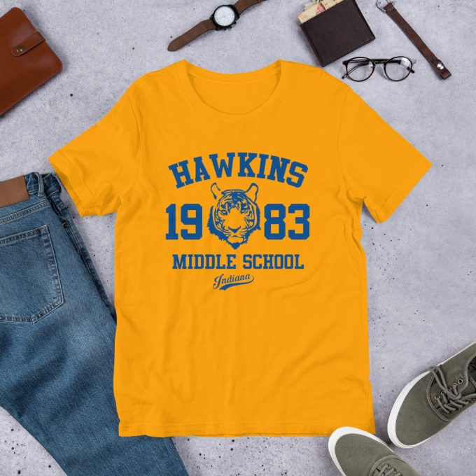 Stranger Things Hawkins Middle School T Shirt