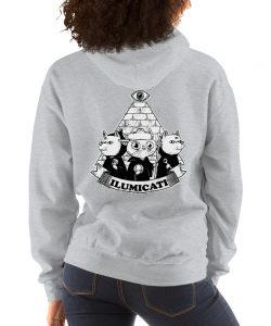Funny Ilumicati Hoodie Illuminati Parody