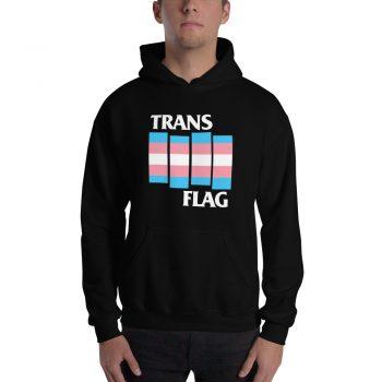 Trans Flag LGBT Unisex Hoodie