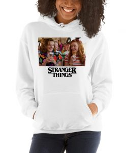 Eleven and Max Stranger Things Hoodie