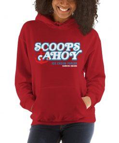 Scoops Ahoy Ice Cream Parlor Stranger Things Hoodie
