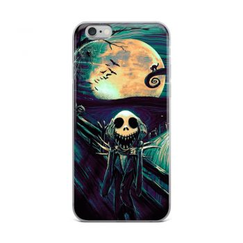 Nightmare Before Christmas Scream Custom iPhone X Case