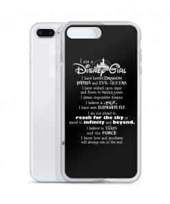 I'm A Disney Girl Quote Custom iPhone X Case
