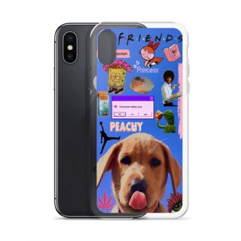 Friends Peachy Collage Custom iPhone X Case