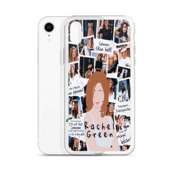 Rachel Green Friends Collage Custom iPhone X Case