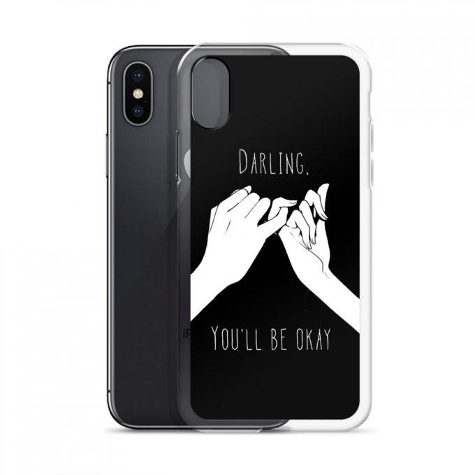 Darling You'll Be Okay Custom iPhone X Case
